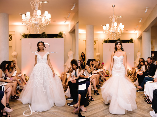 Hayley Paige Vaughn and Piper Gowns